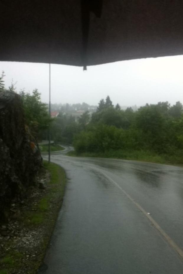 Rainy june day