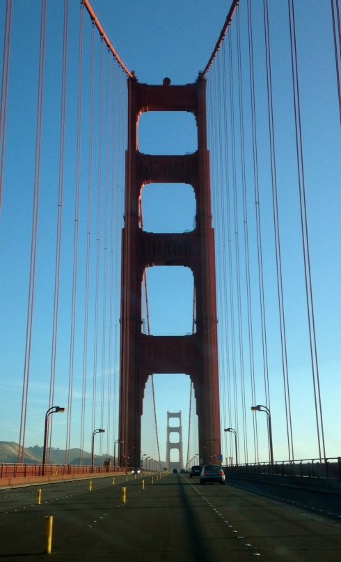 Half Marathon across Golden Gate Bridge